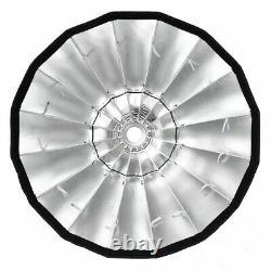 Godox P90L 90cm Bowens Mount Parabolic Softbox With Grid For Flash Strobe Light