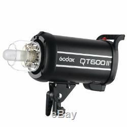 Godox QT-600II 600W 600Ws 2.4G High Speed 1/8000s Studio Strobe Flash Light 220V