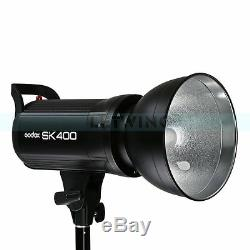 Godox SK-400 400W Photography Flashes Strobe Studio Lighting Bulb Lamp Head 220V