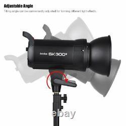 Godox SK300II 300W 2.4G Rycle time 0.1-1s 5600K Studio Flash Strobe Light Head