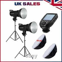 Godox SK300II Studio Strobe Head Flash XPro Transmitter F Canon Nikon Sony Fuji