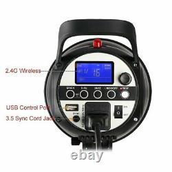 Godox SK400II 400W 220V 2.4G Wireless X System Studio Flash Light Strobe Head