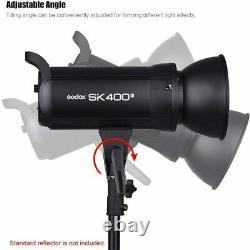 Godox SK400II Professional Compact 400Ws Studio Flash Strobe Light GN65 5600K Ku