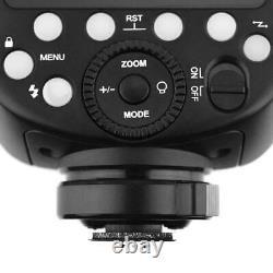 Godox V1 Nikon Round Head Camera Studio Flash Portable TTL HSS Speedlight Strobe