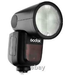 Godox V1-S Flash Strobe Lighting Kit with Stand Umbrella and XPRO Sony Trigger