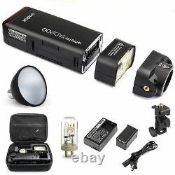 Godox2.4G Flash AD200 1/8000 with AD-S2 Standard Reflector For Canon Nikon Sony