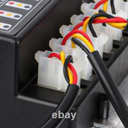 Hide Away Emergency Strobe Light Headlight Kit Waring System 8 HID Bulbs-WHITE
