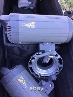 Impact VC-500WL 500Ws Digital Monolight, Photography Strobes