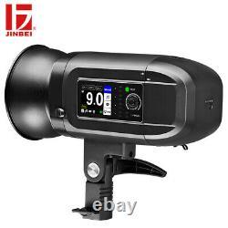 JINBEI HD-400 Pro 400Ws 1/8000s High Speed Studio Strobe Flash Light Speedlite