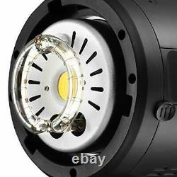JINBEI Studio Strobe Flash Lights SPARK-400D 400W Monolight with Bowens Mount