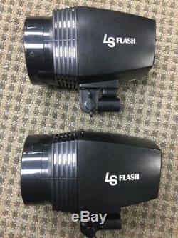 LS JSINTK Series Studio Strobe 33 Umbrella Softbox Flash & Strobe Lighting Kit