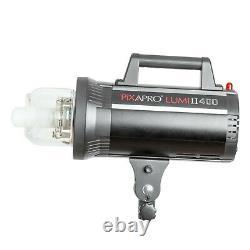 LUMI II 400 Clamshell Lighting Kit Studio Flash Strobe Photography Mains Power