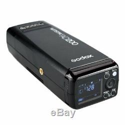 Lose Money Godox AD200 200W 2.4G TTL Flash Strobe 1/8000s HSS Pocket Flash Light