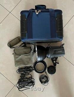 Mettle 300W K-300AD Dual Power Studio Strobe Flash Light indoor outdoor portable