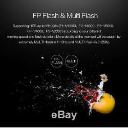 NICEFOTO nFlash 480A Battery Powered High Speed Studio Flash Strobe