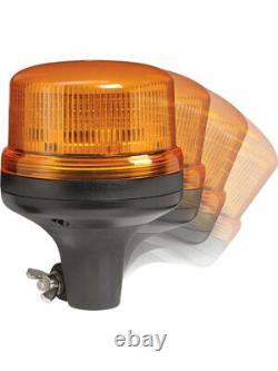 Narva Eurotech Low Profile LED Strobe/Rotator Light, 6 Flash Patterns (85256A)