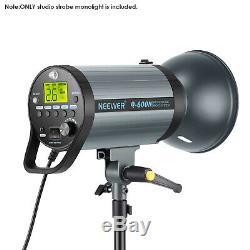 Neewer 600W GN82 Studio Flash Strobe Light Monolight with 2.4G Wireless Trigger