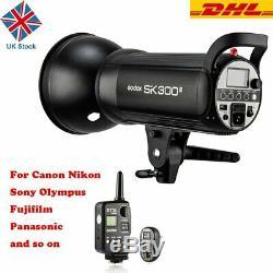 New Godox SK300II 300W 2.4G Studio Flash Strobe Light +XT-16 Trigger F Studio