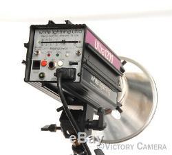 Paul Buff White Lightning Ultra 1200 Studio Flash Strobe Monolight (9122-1)
