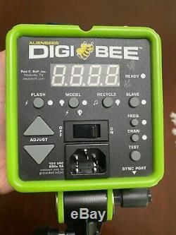 Paul C. Buff Alien Bees DB800 Monolight Strobe Reflector Bag, Digibee green EX