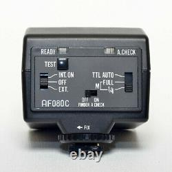 Pentax AF080C Ring Flash Light Strobe Hot Shoe Macro off-camera Grip Cable inVGC