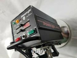 Photogenic Powerlight 1500SL Powerful Studio Strobe Mono-Light Works Great