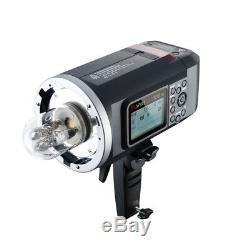 Portable Battery Flash Strobe Bowens Outdoor Canon Nikon Light AD600B TTL 600Ws