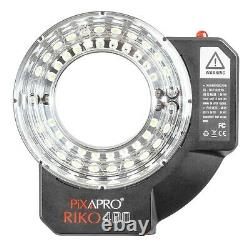Portable Flash Strobe Ring Lighting Unit Battery Powered Dimmable Daylight 400Ws