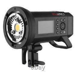 Pro TTL Battery Powered Flash (AD400 PRO) Studio Strobe Lighting CITI400 400Ws