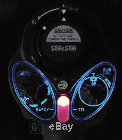 Sea&Sea YS-D3 Underwater Photography Strobe Flash Light/Gift Fiber Cable & Jacke