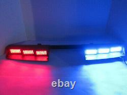 Signal LED 6-Head Light Bar DL16V-6CV-RB Vehicle Strobe Flashing Red Blue Car