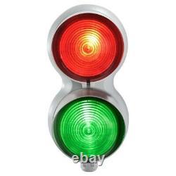 Sirena T-Line Red/Green Traffic Light Kit Steady, Flash & Strobe Effect 120/240V
