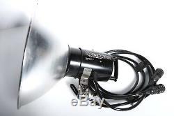 Speedotron 105 Quad-Tube Lamphead 2 Cable 4800WS Arena Strobe 4 bulbs