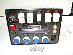 Speedotron 1205CX Black Line Studio Strobe Power Supply Used VGC 1200 Watt Sec