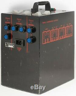 Speedotron 2403 CX LV Black Line Studio Strobe Power Supply Flash 2400 Watt Sec