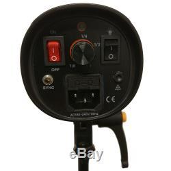 Studio Flash Strobe Lighting Kit 450w Softbox Shooting Table Trigger Kit Photogr