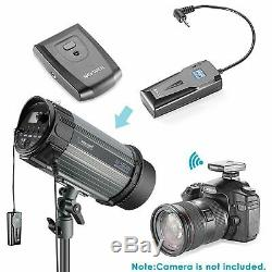 Studio Flash Strobe Photography Lighting Soft box Reflector Umbrella Flash Kit