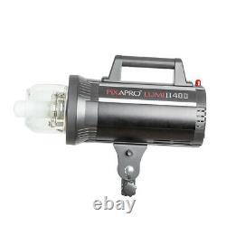 Studio Strobe Flash Light Adjustable Photography Lighting 400Ws Godox GS400II