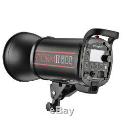 Super Fast Bright Studio Strobe Flash High Speed Motion Action Photography QT600