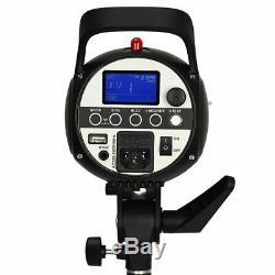 UK 1200w 3x Godox SK400II 400W 2.4G X Studio Flash Strobe Light Head f Nikon