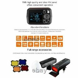 UK 2Godox 2.4 TTL 1/8000s AD200 Pocket Flash+X1T-C for Canon+AD-B2+AD-S7 Kit