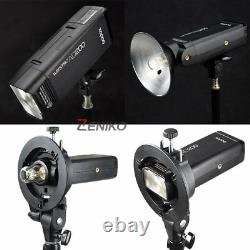UK Godox 2.4 TTL 1/8000s Two Heads AD200 Flash + S Holder with 6060 Softbox Kit