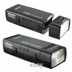 UK Godox 2.4 TTL HSS AD200 Flash+AD-S2+AD-S11+AD-S7+Xpro-C Trigger for Canon Kit