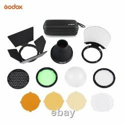 UK Godox H200R Ring Head+EC200 Cable+AK-R1 accessories kit for AD200 AD200PRO
