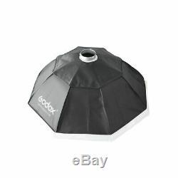 UK Godox SK300II 300W 2.4G Flash Strobe+95cm softbox+light stand+X1T-N for Nikon