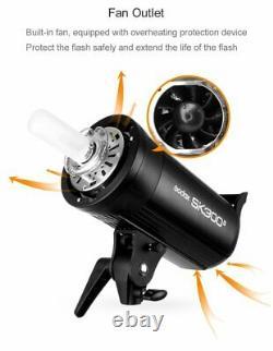 UK Godox SK300II 300W 300Ws 2.4G X System Studio Flash Strobe Lamp Light Head