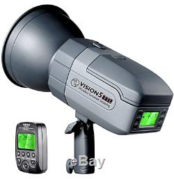 Vision 5 400W TTL HSS Outdoor Strobe Flash with Wireless Trigger for Canon