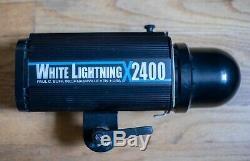 White Lightning Studio Strobe- X-2400