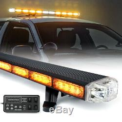 Xprite 48 Amber Traffic Advisor LED Roof Top Emergency Strobe Light Tow Truck