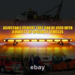 Xprite Hawk 48 Rooftop LED Shrobe Light Emergency Warning Hazard + Control Box